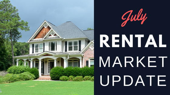 Rental Market Update – July 2018 – Pace, Milton, Pensacola