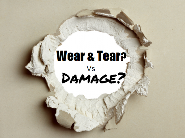 Tenant Damages vs. Wear and Tear