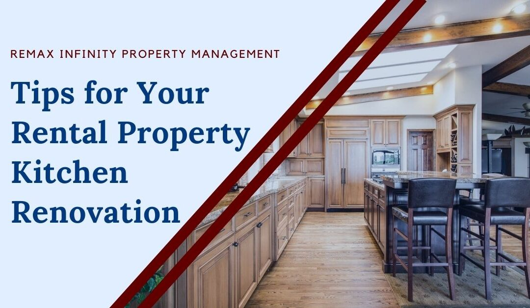 Tips for Your Rental Property Kitchen Renovation