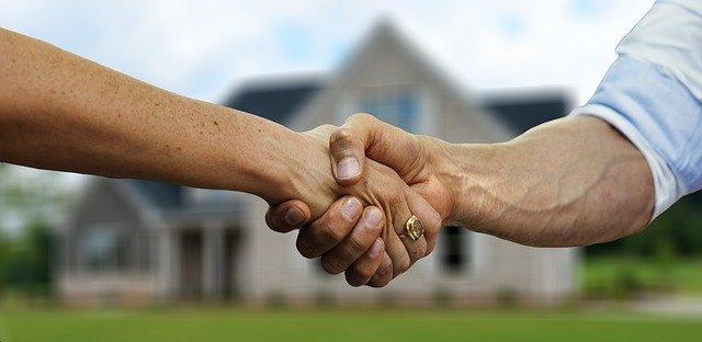 landlord tenant handshake