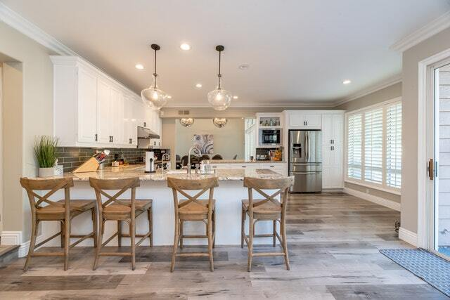 lighting is an important aspect of a kitchen